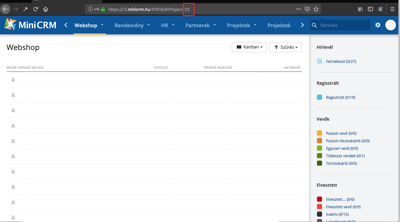 webshop category